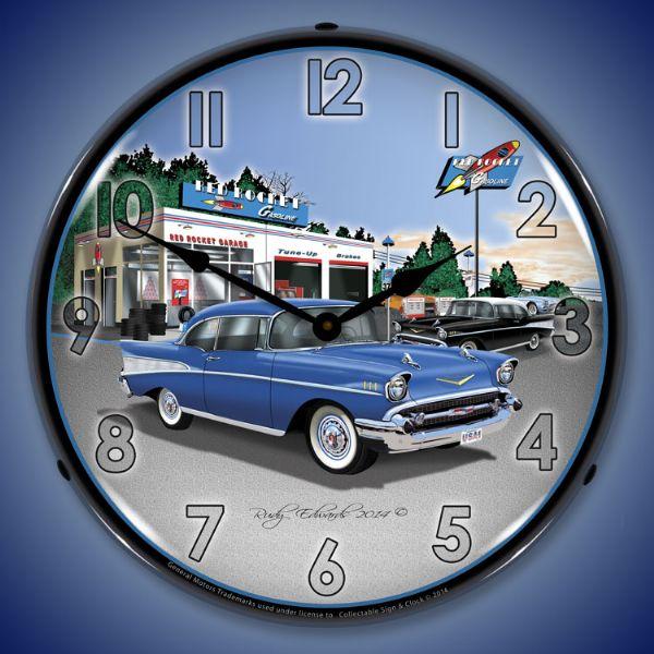 Sample Backlit Clocks | American Made Sample Car Club Clocks | American  Made Sample Social Club Clocks