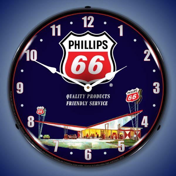 Best LED Backlit   Phillips 66 Gas Station   Promotional